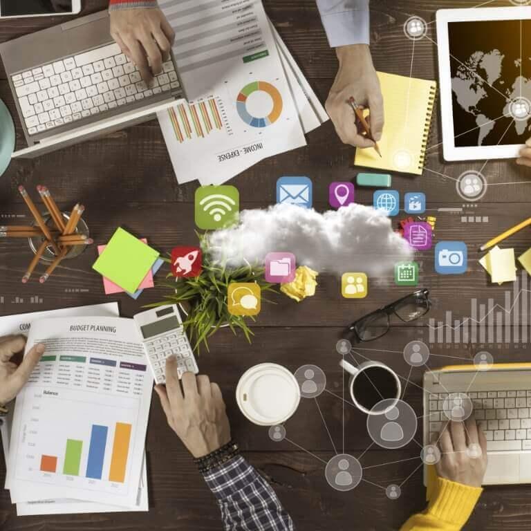 Reunião para gerenciamento sem complicação